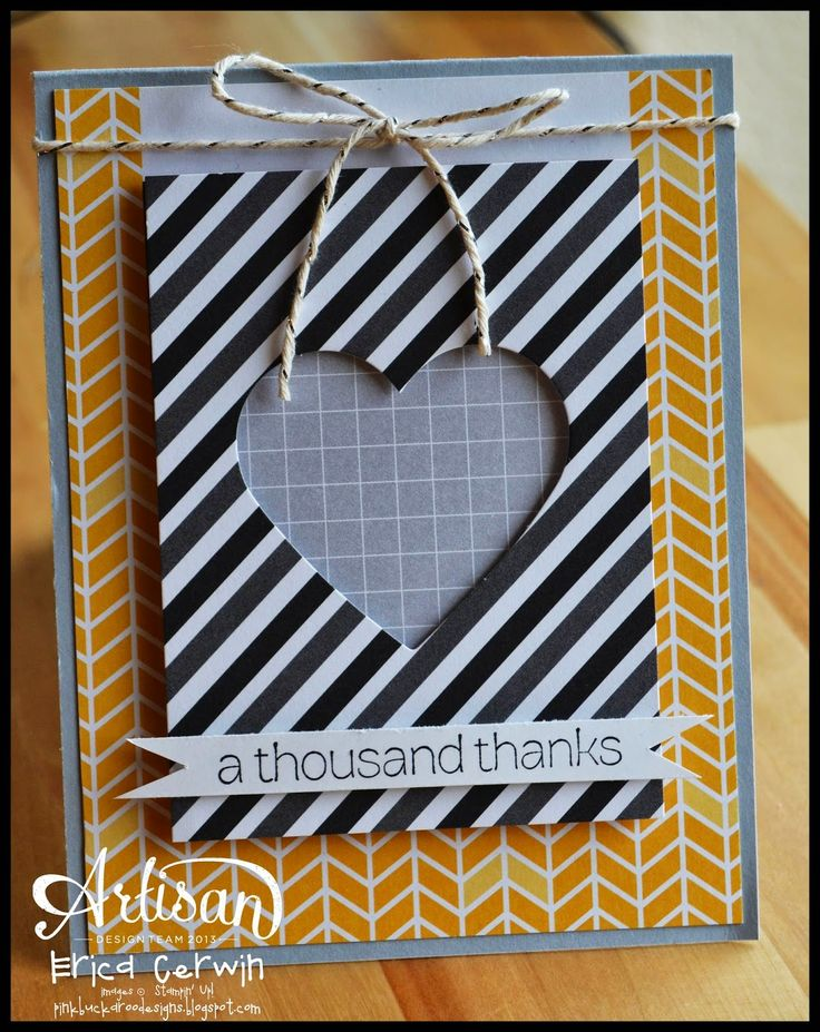 Stampin' Up! Project Life Everyday Adventure;fantastic card made with PLxSU pocket cards