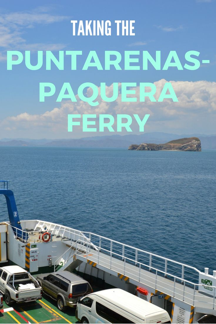 Visiting Montezuma or Santa Teresa, Costa Rica? The Puntarenas-Paquera Ferry is a great way to save some time. Not only does it cut a few hours off the drive, but you'll also enjoy awesome views as you cruise across the bay. Here are our tips for taking the ferry, including times, cost, and bringing your car across.