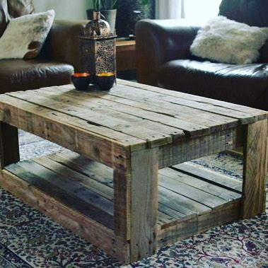 """201 Likes, 7 Comments - Pallet Wood Ideas (PWI) (@palletwoodideas) on Instagram: """"Look at this pallet table I found online!!! Wow it's awesome!!! 🙌👍🙌 #pallet #palletwoodideas…"""""""