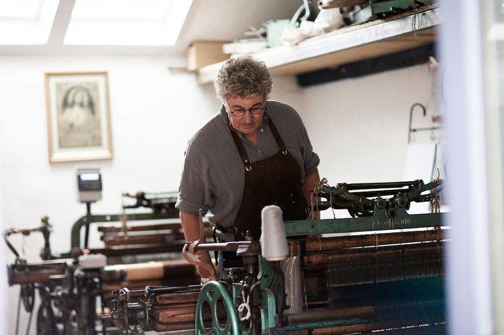 The morning checks | McKernan Woollen Mills | Handmade scarves | Made in Ireland | Irish Design | Women's Accessories | Weaving | Knitting