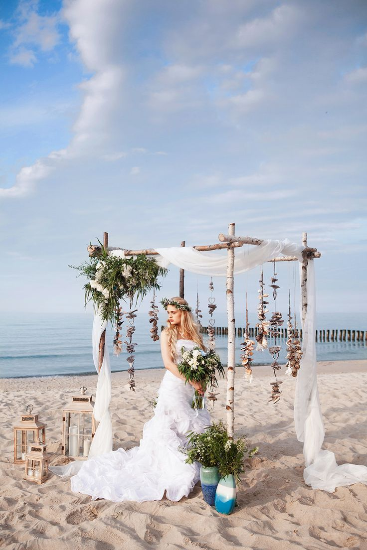 346 Best Beach Weddings Images On Pinterest Beach Weddings