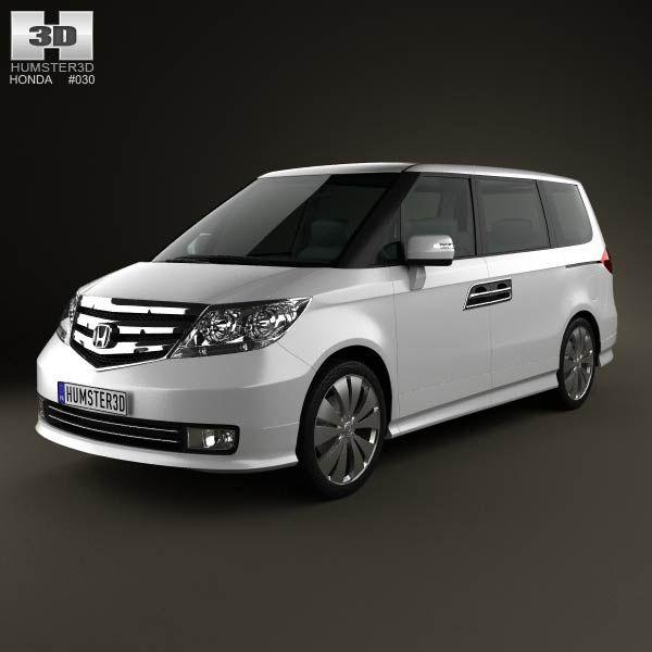 Honda Elysion 2012 3d model from humster3d.com. Price: $75