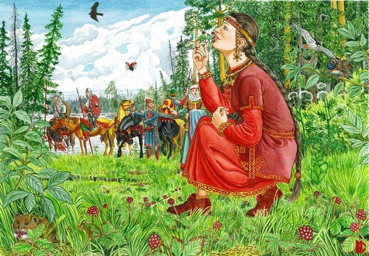 Княженика (Rúbus árcticus). Николай Фомин