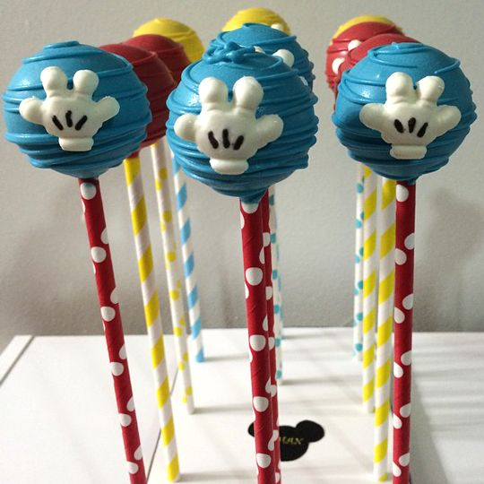 Mickey Mouse Cake Decorating Instructions