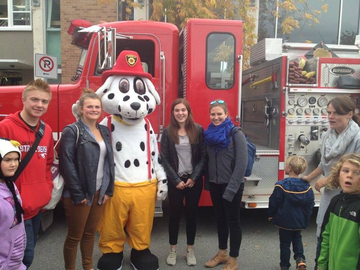 Participating in Community events like the Kimberley Fire Hall Open House