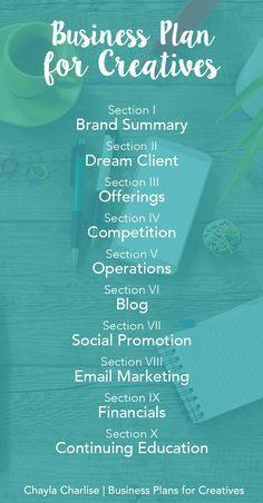A Business Plan for Creatives #blog, #blogging, blogging, business, entrepreneur