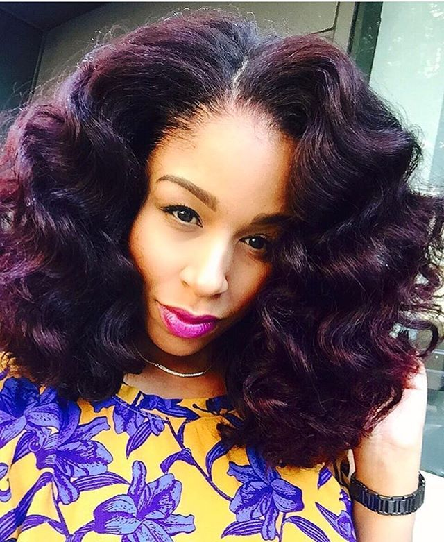 Big hair don't care on @moknowshair  This color is GORG #nycstylist #wandcurls…