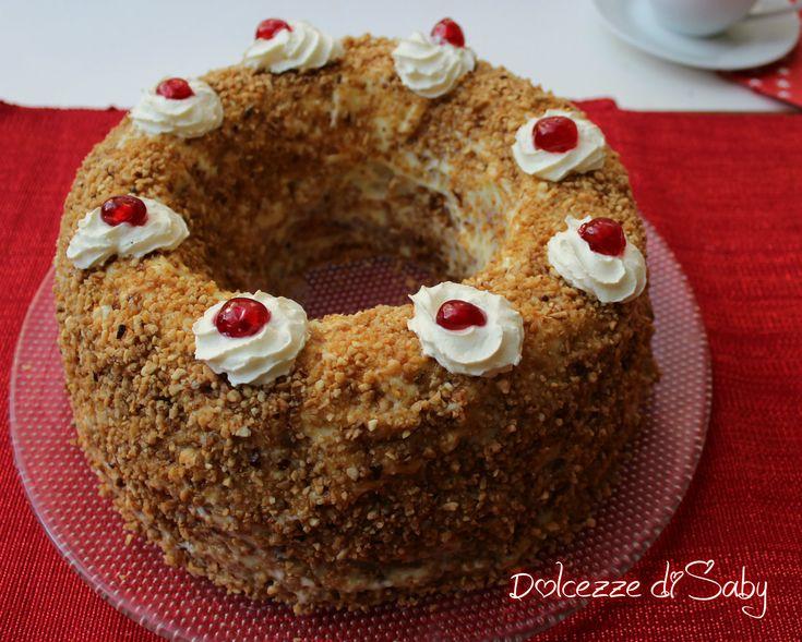 Il Frankfurter Kranz é una torta molto buona tipica della tradizione tedesca letteralmente significa coronadi Francoforte,si racconta infatti che il prim