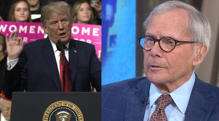 SEE IT: Tom Brokaw Rips Trump for Calling NBC Anchor a 'Sleeping Son of a B*tch' at Rally
