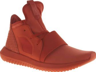 Adidas Red Tubular Defiant Womens Trainers adidas are all about girl power this season as the Tubular Defiant arrives with a feminine-fresh update. With designs reminiscent of the original, the bright red fabric style features animal printed s http://www.comparestoreprices.co.uk/january-2017-8/adidas-red-tubular-defiant-womens-trainers.asp