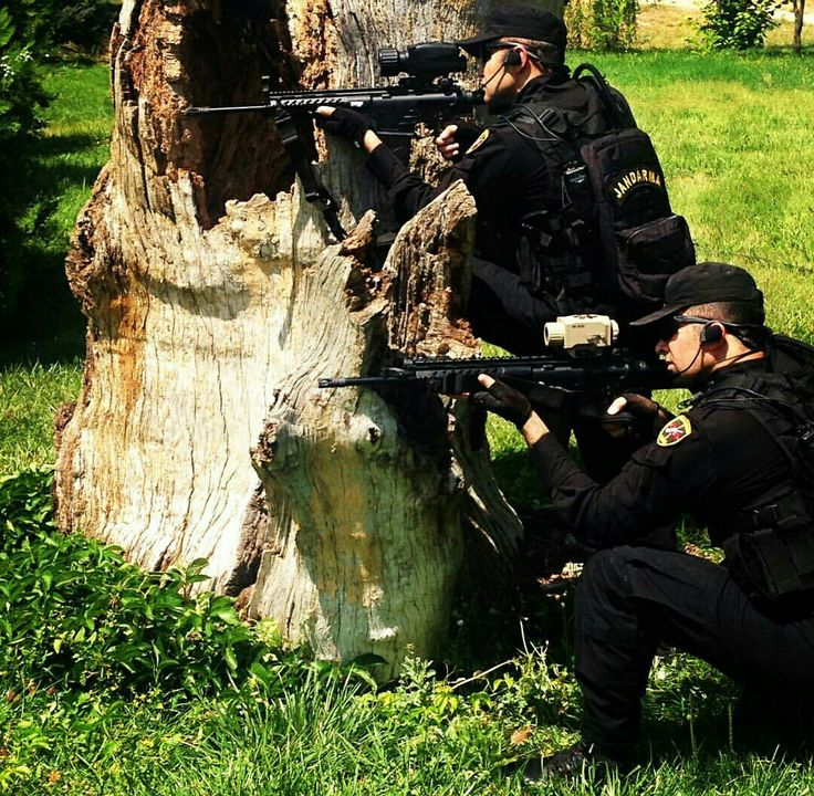 Turkey special Forces, Special Operation Gendarme-JÖAK- and Turkey National Assault Rifle MPT-76, ~(3EOS Optic System)~