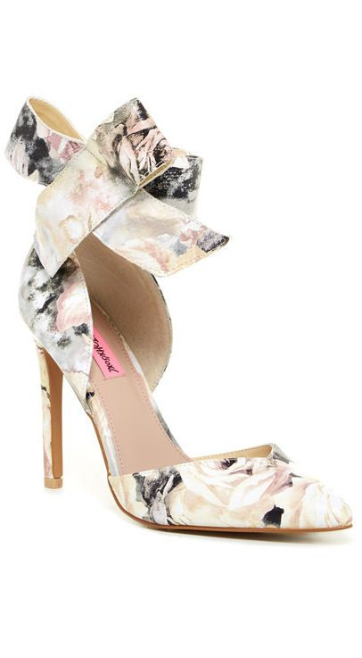 Ankle Bow d'Orsay Pump