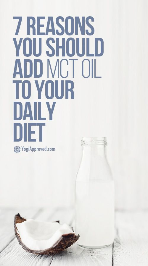 7 Reasons You Should Add MCT Oil to Your Diet