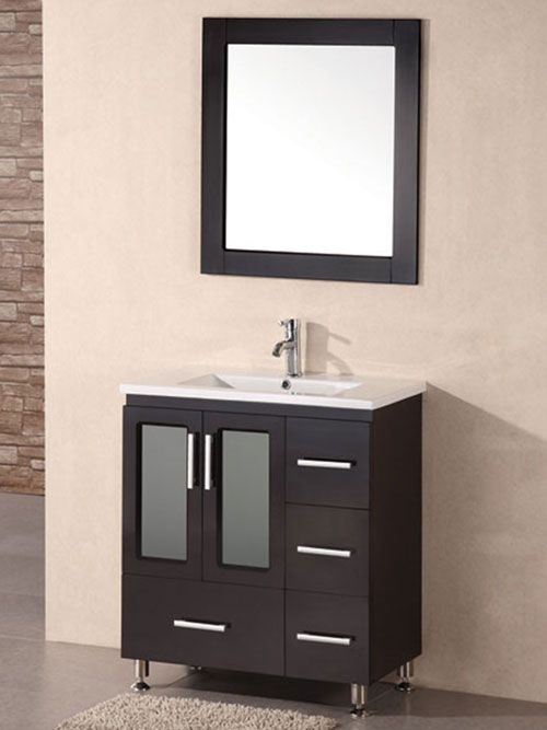 Found It At AllModern   Milan Stanton Single Modern Bathroom Vanity Set  With Mirror