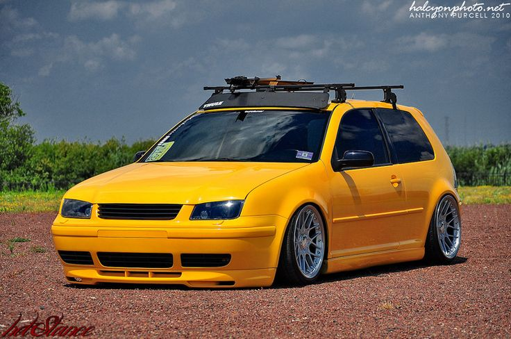 Volkswagen Golf Mk4 On Bbs Rs Ii Wheels Favorite Cars