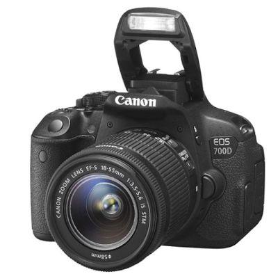 Canon EOS 700D Lensa Kit 18-55mm IS STM Kamera DSLR - Hitam [18 MP]   specification
