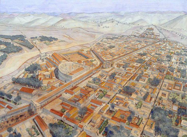 Syrie - Palmyra (Palmyre) - Vue générale