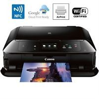 Canon MG7720 Printer Scanner & Copier with Wi-Fi Airprint & Cloud Print Ready (Black)