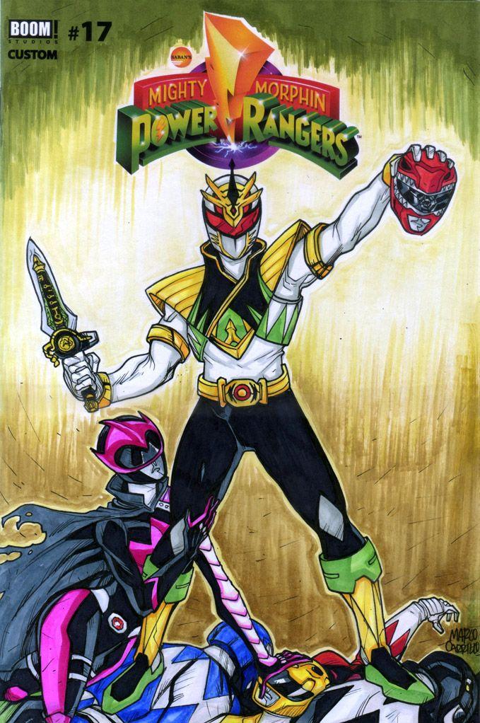 Lord Drakkon And Ranger Slayer Sketch Cover By Mdavidct Lord Drakkon Power Rangers Cosplay Power Rangers Comic