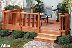 wooden decks ideas | fee plans woodworking resource from PlansNOW - decks,remodeling,patios ...