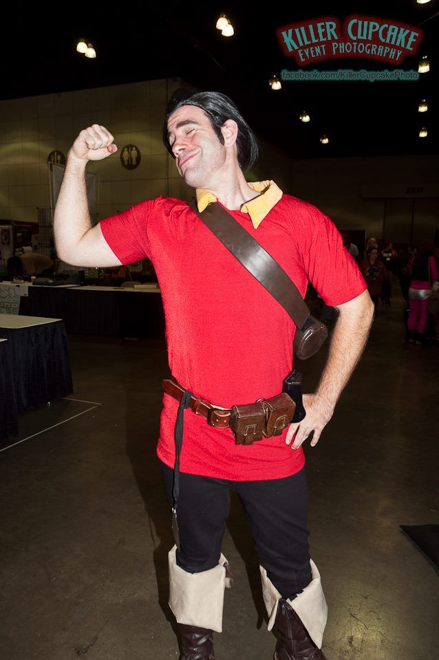 Gaston (from Beauty and the Beast) #Disney #cosplay | Comikaze Expo 2013