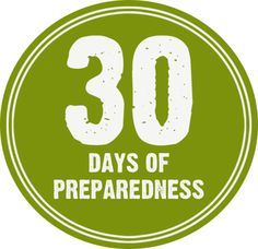 September is National Preparedness Month - Challenge Yourself! - Mom with a PREP