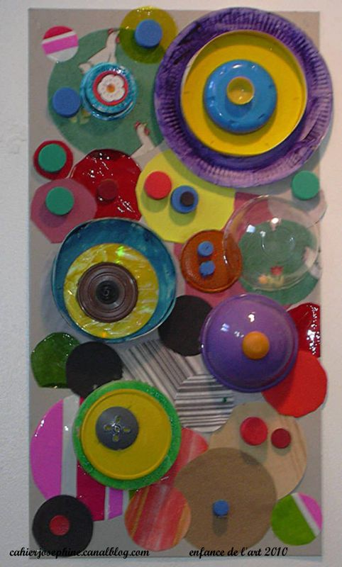 "Bottle tops, paper plates & bowls... ("",)"