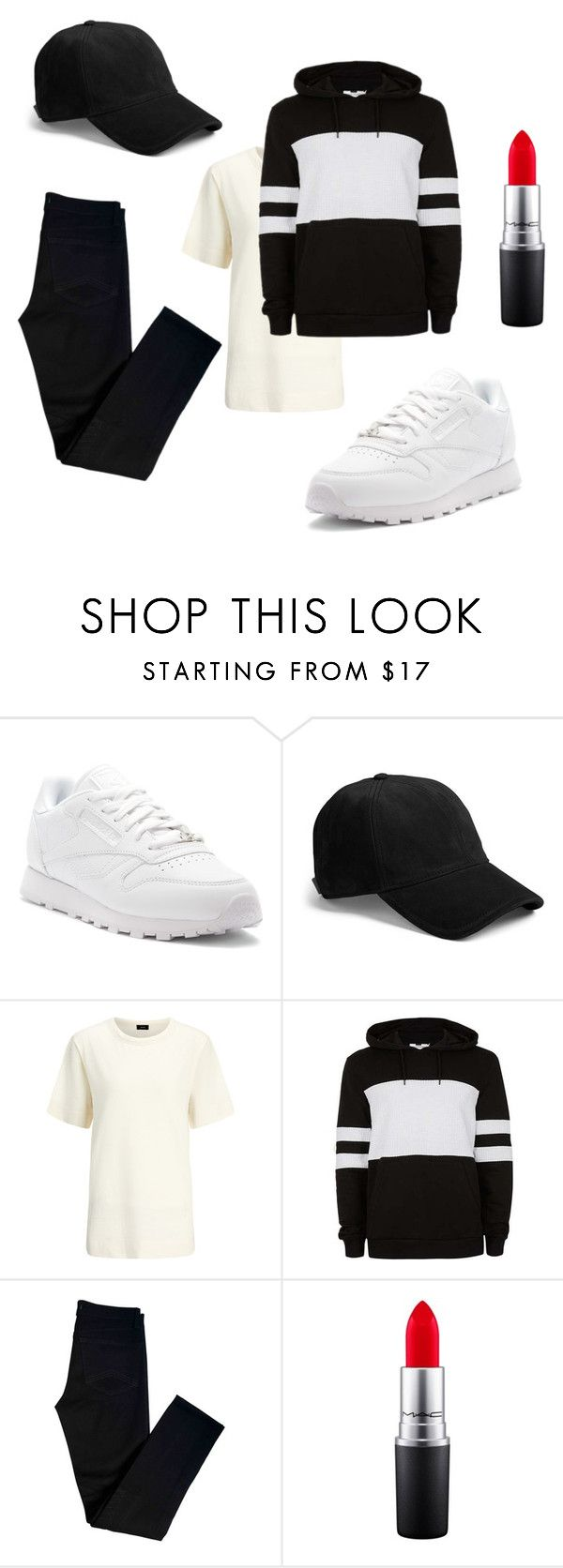 """525"" by alena-mendesh on Polyvore featuring Reebok, rag & bone, Joseph, J Brand и MAC Cosmetics"