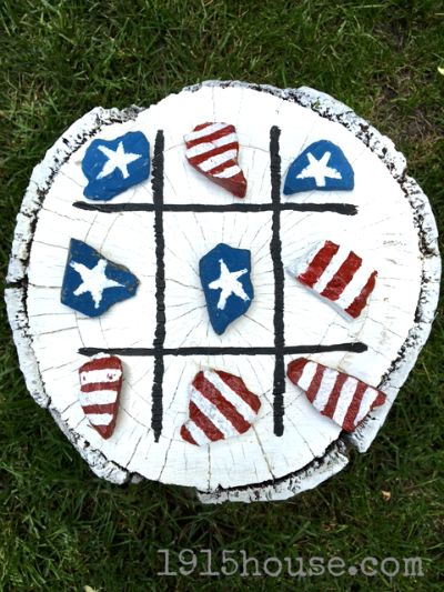This is the easiest outdoor tic tac toe game ever - and it'll give hours of fun for your kids!