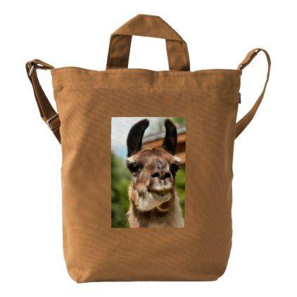 Llama Duck Bag - photography gifts diy custom unique special
