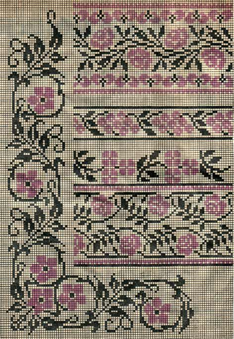 Scheme of Ukrainian embroidery