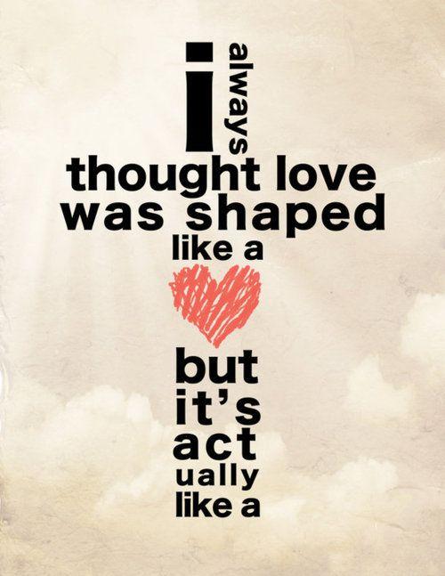 He is love.