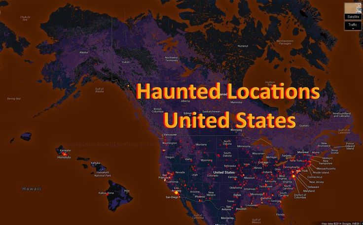 These Are The Most Haunted Locations In The United States