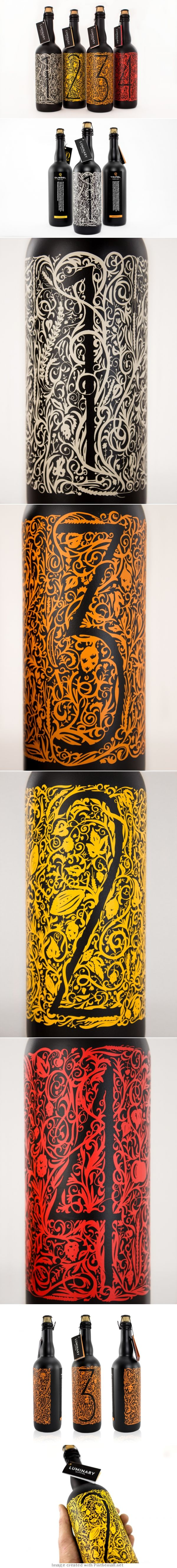 Amazingly modern and intricate packaging; I love the style of illustration.