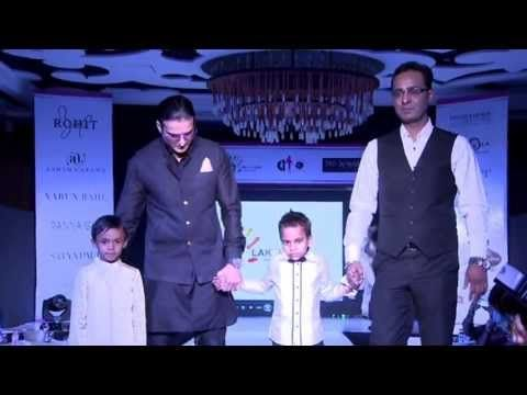 The Real Estate Guru, Mr. Tarun Shienh (CMD Premia Group) walks the Ramp with Jimmi Shergill at 'Fashion For Cause', CSR Event by Premia Group and NGO Lakshyam