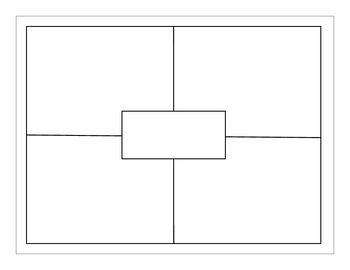 FREE four square template to use for all subject areas!