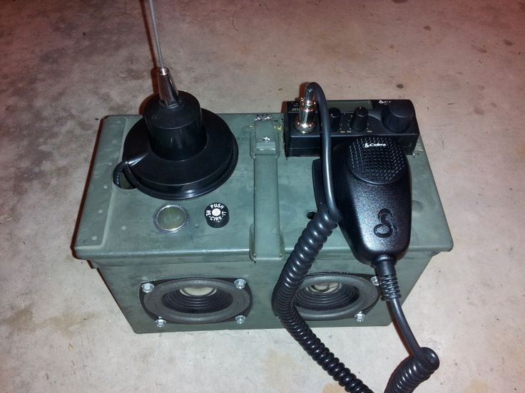 Portable CB radio - Survivalist Forum