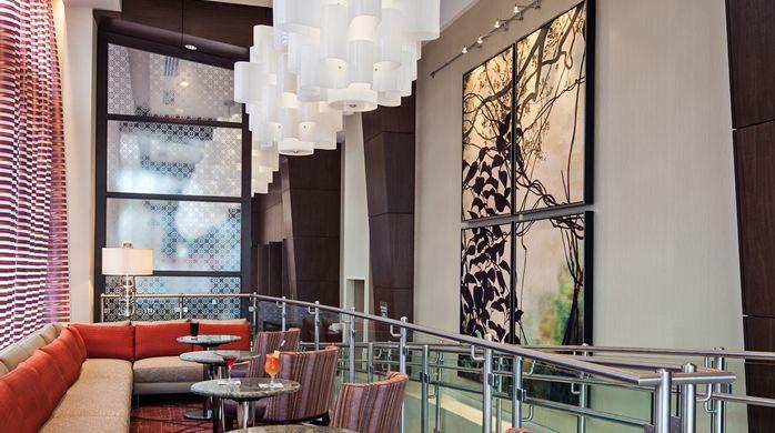 Hilton Garden Inn Atlanta Midtown, GA - Garden Grille/Lounge