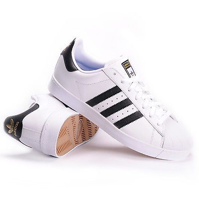Adidas Superstar Vulc ADV (White/Core Black/White) Men's Skate Shoes in Clothing, Shoes & Accessories, Men's Shoes, Athletic | eBay