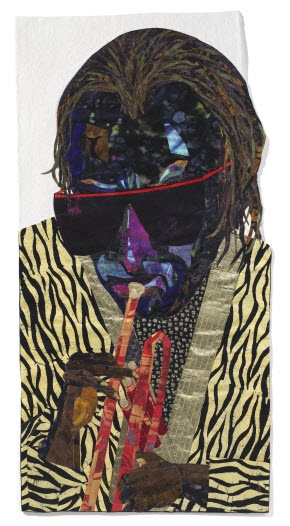Alice Beasley. Contemporary Art Quilt.