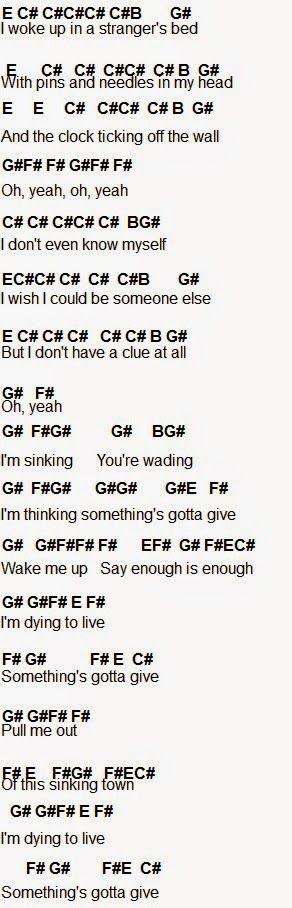 valentine chords lyrics