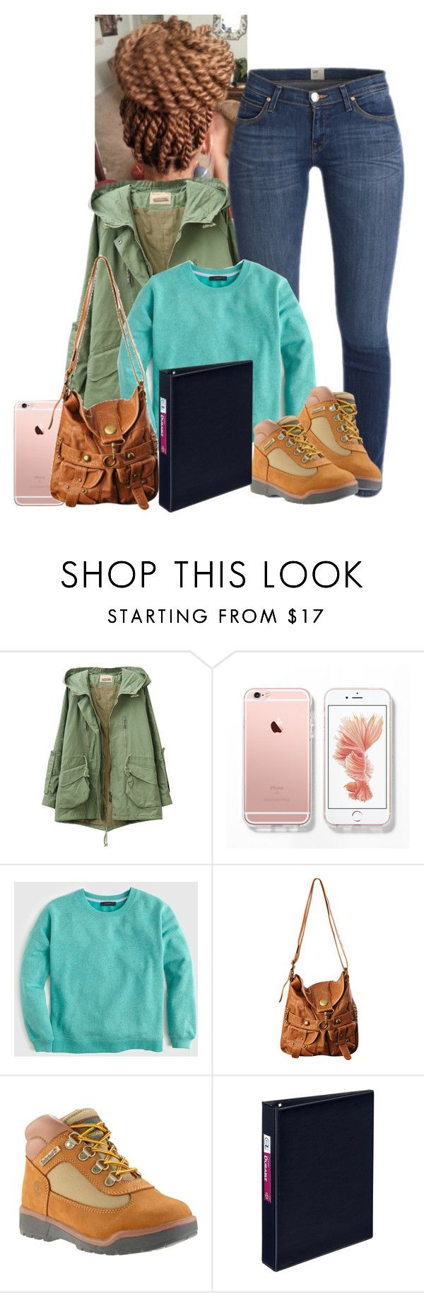 """""""Ootd✨"""" by je-mimi ❤ liked on Polyvore featuring J.Crew, Forever 21 and Avery"""
