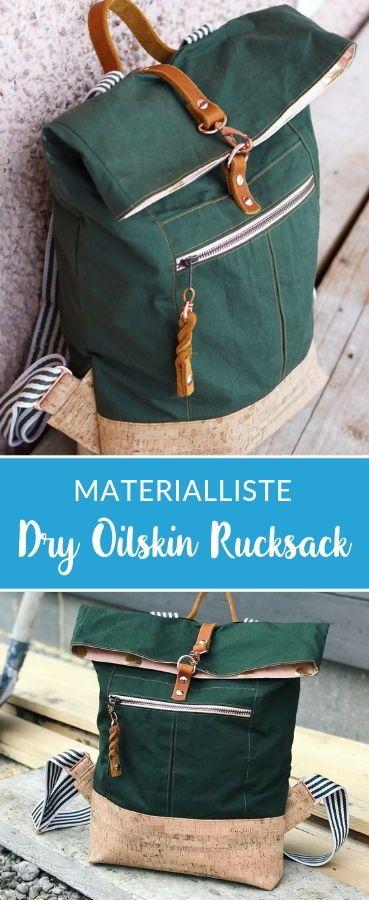 Dry Oilskin Rucksack von Mimi näht *Showroom*