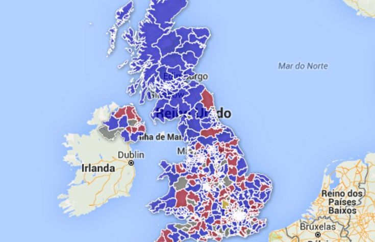 Mapping the Voting intention of UK MPs in the European Referendum
