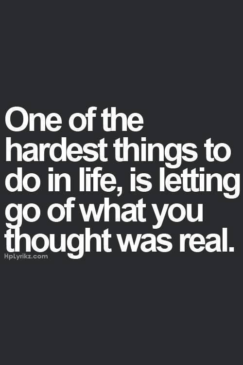 One of the hardest things to do in life… | 9 Printable Breakup Quotes