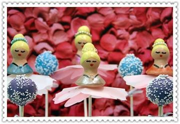 Swan Lake Cake Pops by Angelpops for $39.99