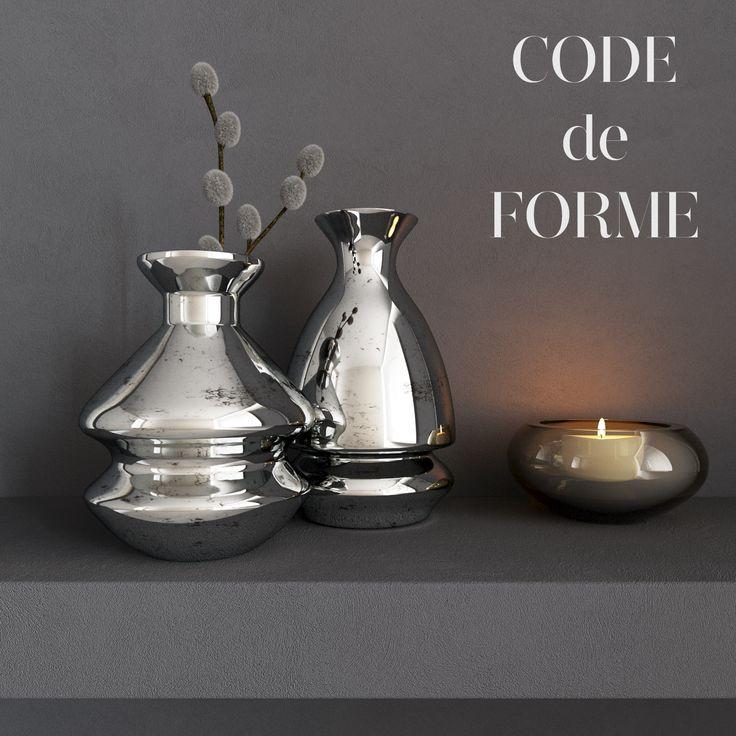 Decorative set design Kelly Hoppen http://3dsky.org/3dmodels/show/nature_morte_vazy_s_vierboi