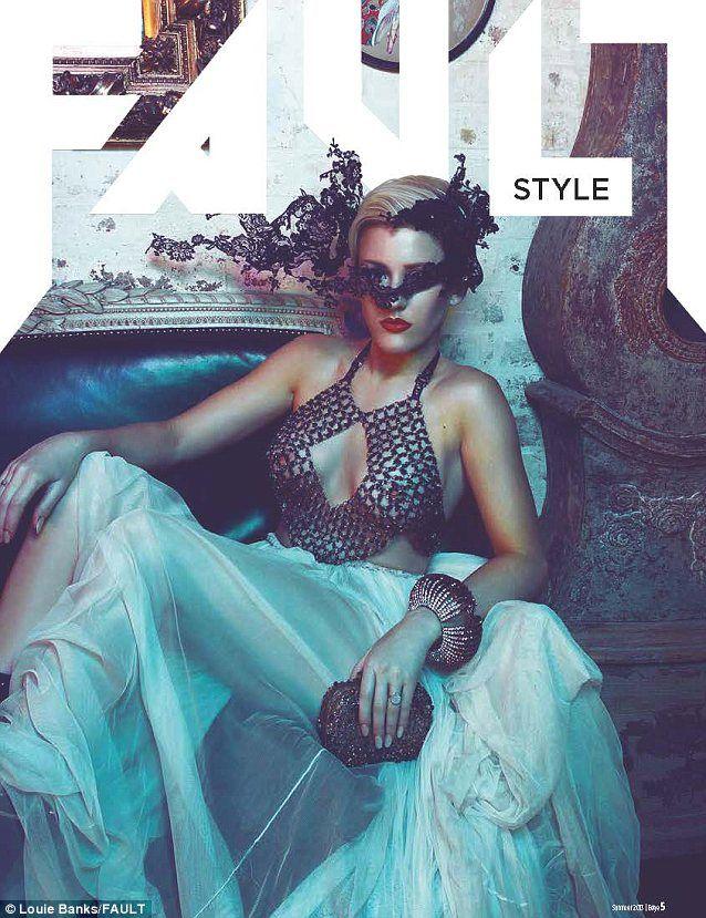 Ellie Goulding glamour