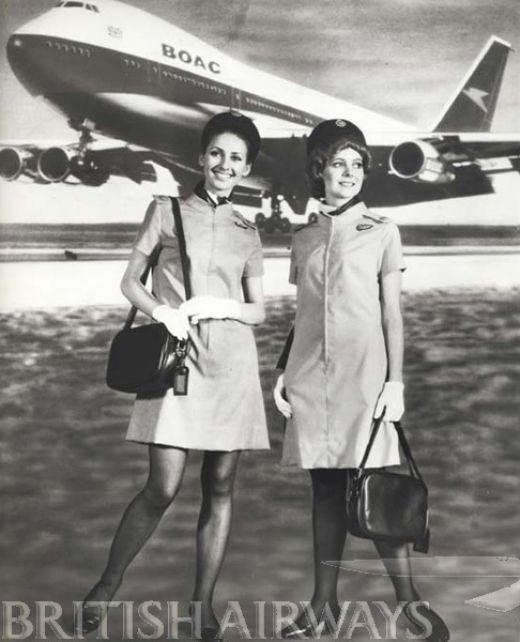British Airways vintage