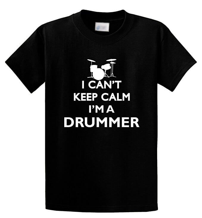 Top Gifts For Drummers Birthdays Christmas Drummers T-Shirt